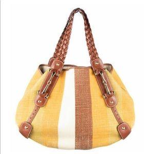 2a72a48afc GUCCI Multi Color Canvas Summer Shoulder Bag